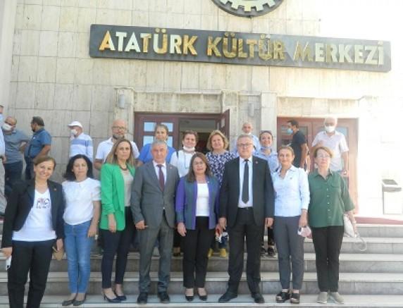 CHP'de İl Danışma Kurulu Toplantısı Yapıldı.